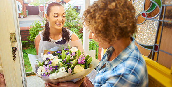 Polite and Courteous Flower Deliveries